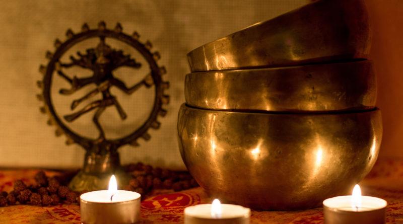 Гонг и музыка поющих чаш для оздоровления
