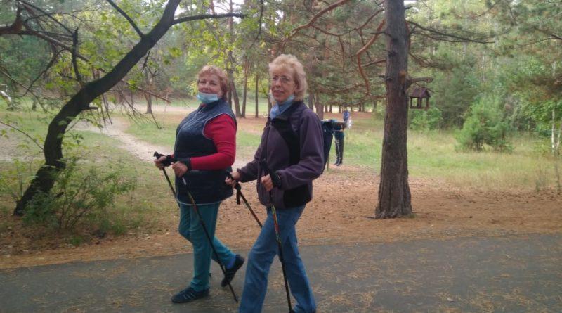 Скандинавская ходьба в Бийске (1)