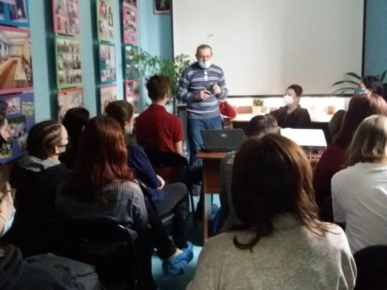 Встреча со студентами международного колледжа сыроделия и профессиональных технологий