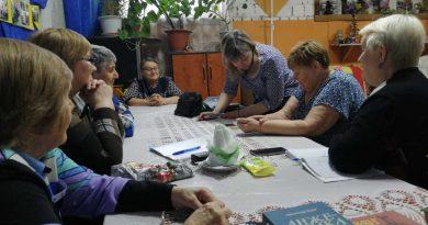 Встреча психолога с инвалидами в г. Бийске