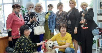 В Рубцовске прошло первое занятие по анималотерапии