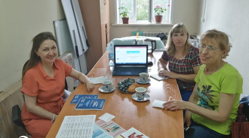 Обмен опытом встреча с руководителем Томской НКО в г. Бийске