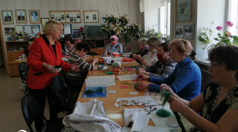 Арт-терапия для добровольцев АКОО Вместе против рака в г. Бийске
