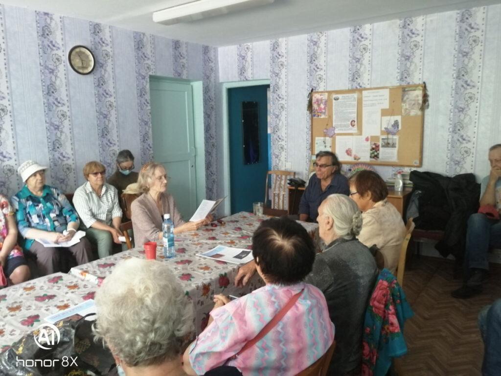 Добровольцы АКОО «Вместе против рака» побывали на встрече с актером, режиссёром, писателем Пинчуком В.Л.