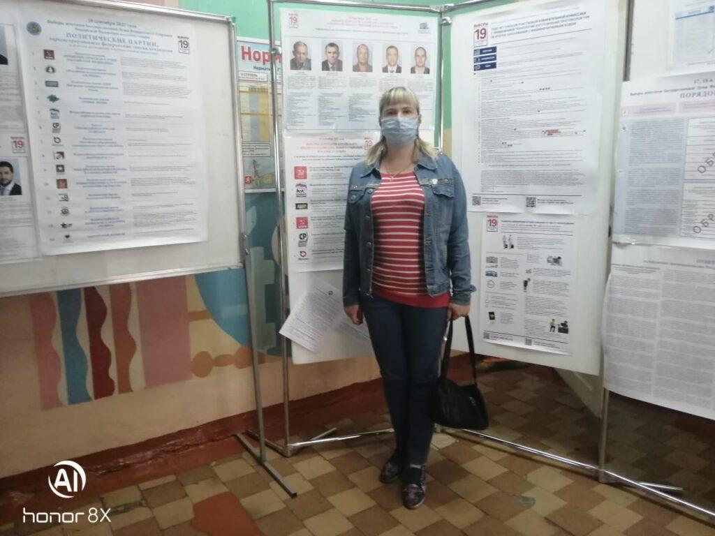 Специалисты и добровольцы АКОО «Вместе против рака» в г. Бийске приняли участие в выборах